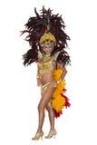 Масленица, танцор самбы Стоковые Фотографии RF
