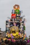 Масленица 2016 Viareggio Стоковые Фото