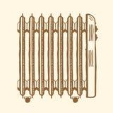 Маслонаполненный электронагреватель Стоковые Изображения RF