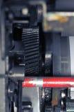 Маслообразная рукоятка в механически технологии Стоковые Фотографии RF