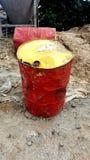 масло барабанчика старое Стоковые Фотографии RF