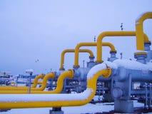 Масло/газопровод в sonwing Стоковая Фотография RF