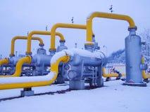 Масло/газопровод в sonwing Стоковое Изображение RF