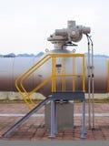 Масло/газопровод на огне Стоковое фото RF