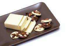 Масло и печенья Стоковое Фото