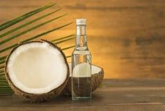 масло иллюстрации падения кокоса стилизованное Стоковое фото RF