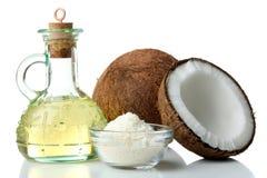 масло иллюстрации падения кокоса стилизованное Стоковая Фотография