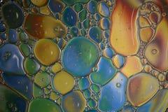 Масло на воде Стоковое Изображение RF