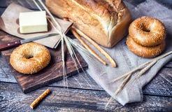 масло хлеба стоковое фото rf