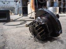 Масло цепного колеса Стоковое фото RF