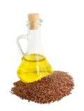 Масло льняного семени Стоковое Изображение RF