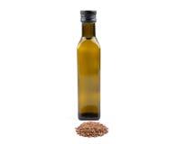 Масло льняного семени Стоковые Изображения