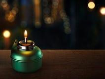 Масляная лампа Рамазана Стоковые Изображения