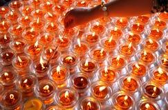 Масляные лампы Стоковые Фото