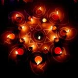 Масляные лампы Стоковая Фотография