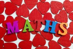 Математика влюбленности Стоковые Фото