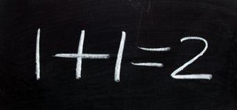 Математика на своем самое лучшее Стоковая Фотография
