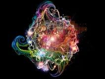 Математика фрактали Стоковое Изображение