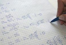 математика Стоковые Фотографии RF