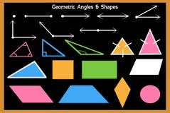 Математик-геометрические углы и формы изученные в школах бесплатная иллюстрация