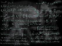 Математические формулы Стоковые Изображения