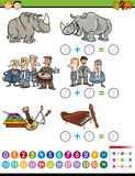 Математически задача preschool Стоковое фото RF