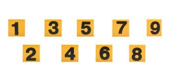 математически номера Стоковое Фото