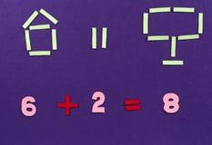 Математически уровнение Стоковое Изображение RF