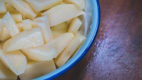 Материал еды картошек стоковая фотография