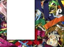 материал карточки Стоковые Изображения RF