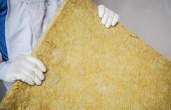 Материал минеральных шерстей изолируя стоковые изображения