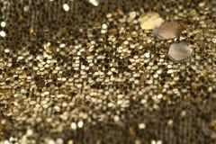 Материал предпосылки золота стоковая фотография
