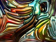 Материал радужного стекла иллюстрация штока