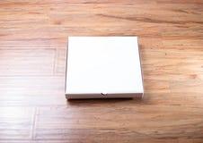 Материал бумаги модель-макета пакета коробки пиццы Стоковая Фотография RF
