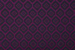 Материал в геометрических картинах, предпосылка ткани. стоковое изображение rf