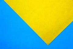 Материальный дизайн на красочных бумагах Стоковые Изображения RF