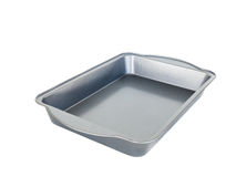 Материальный поднос выпечки для печь хлеба и смачного meatloaf Стоковое Изображение