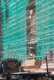 Материальный embarkation на строительной площадке стоковые изображения rf