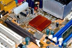 материнская плата компьютера Стоковые Фотографии RF
