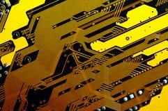 материнская плата компьютера Стоковое Изображение RF