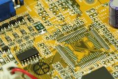 материнская плата компьютера Стоковое фото RF