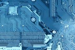 Материнская плата компьютера предпосылки монтажной платы стоковые изображения rf