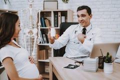 материнство Ноутбук консультация Больница belmont стоковая фотография