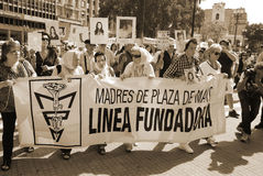 Матери Plaza de Mayo Стоковое Изображение