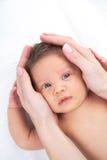 мати влюбленности младенца стоковое фото