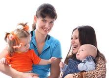 мати младенцев Стоковые Изображения