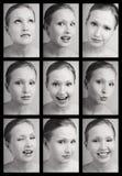 матрица взволнованностей стоковое фото