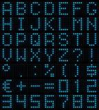 матрица купели многоточия Стоковое фото RF
