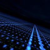матрица решетки данных Стоковые Фото