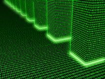 матрица 01 binary Стоковое Фото